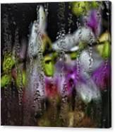 Flower Shop Window 1 Canvas Print