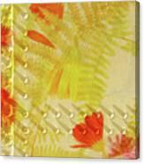 Flower Shower II Canvas Print