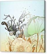 Flower Sol Canvas Print