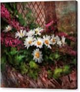 Flower - Still - Seat Reserved Canvas Print