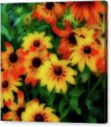 Flower Sunshine Canvas Print