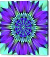 Flower Translucent 19 Canvas Print