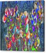 Flower Trees Canvas Print