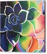 Flower Vibes Canvas Print
