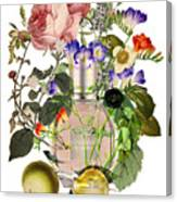 Flowerbomb Notes - By Diana Van Canvas Print