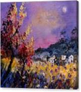 Flowered Landscape 569070 Canvas Print