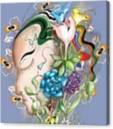Flowerhead Canvas Print