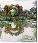 Flowering Arches, Giverny Canvas Print