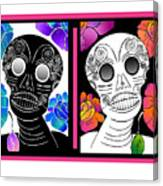 Flowering Death 2 Canvas Print