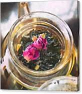 Flowering Tea  Canvas Print