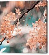 Flowering Tree. Nature In Alien Skin Canvas Print