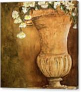 Flowering Urn Canvas Print