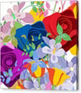 Flowers 7 Canvas Print