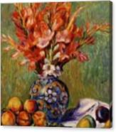 Flowers And Fruit 1889 Canvas Print