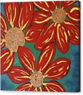 Flowers For M Canvas Print