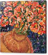Flowers For Mary Canvas Print