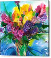 Flowers For My Jesus Canvas Print