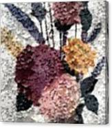 Flowers In Winter Canvas Print