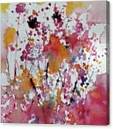 Flowers Of Field Canvas Print