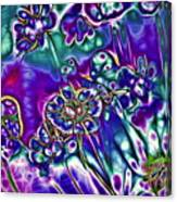 Flowers Of The Distant Planet Canvas Print
