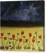 Flowers On Arran Canvas Print