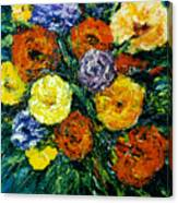 Flowers Painting #191 Canvas Print