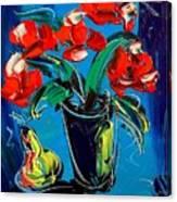 Flowers Roses Canvas Print
