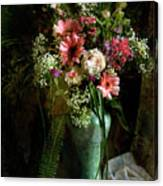 Flowers Still Life Canvas Print