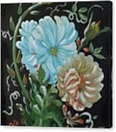 Flowers Surreal Canvas Print
