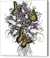 Flowers That Flutter Canvas Print