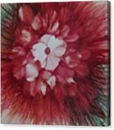 Flowerscape Just Beginning Canvas Print