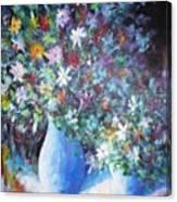 Flowerworks Canvas Print