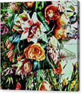 Flowing Bouquet Canvas Print
