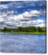 Flowing Down The River Canvas Print