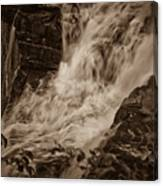 Flowing Force Canvas Print