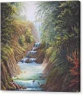 Flowing River Canvas Print