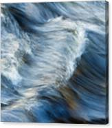 Flowing River Water Canvas Print