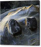 Flowing Rock 2 Canvas Print