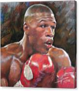 Floyd Mayweather Jr Canvas Print