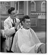Floyds Barbar Shop Andy Griffith Show Canvas Print