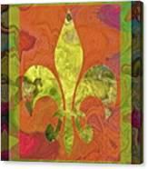 Fluer De Lis Canvas Print