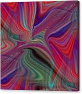 Fluid Motion 6 Canvas Print