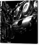 Flute Series Iv Canvas Print
