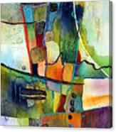 Fluvial  Mosaic Canvas Print