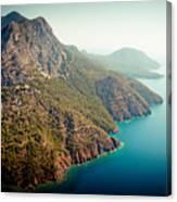 Fly Above Laguna Seascape Artmif.lv Canvas Print