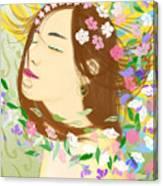 Fly Away On My Zephyr Canvas Print