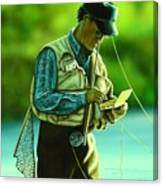Fly Fisher II Canvas Print