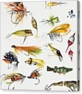 Fly Fishing I Canvas Print
