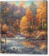 Fly Fishing Legacy Canvas Print