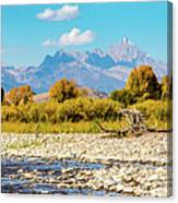 Fly Fishing Paradise Canvas Print